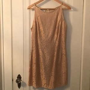 Vintage 1990s Jessica McClintock lace dress